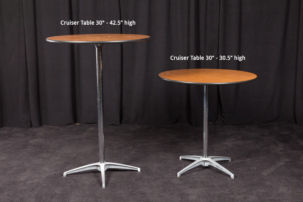 Products Cruiser Table 30 Quot 42 5 Quot High Ops Event