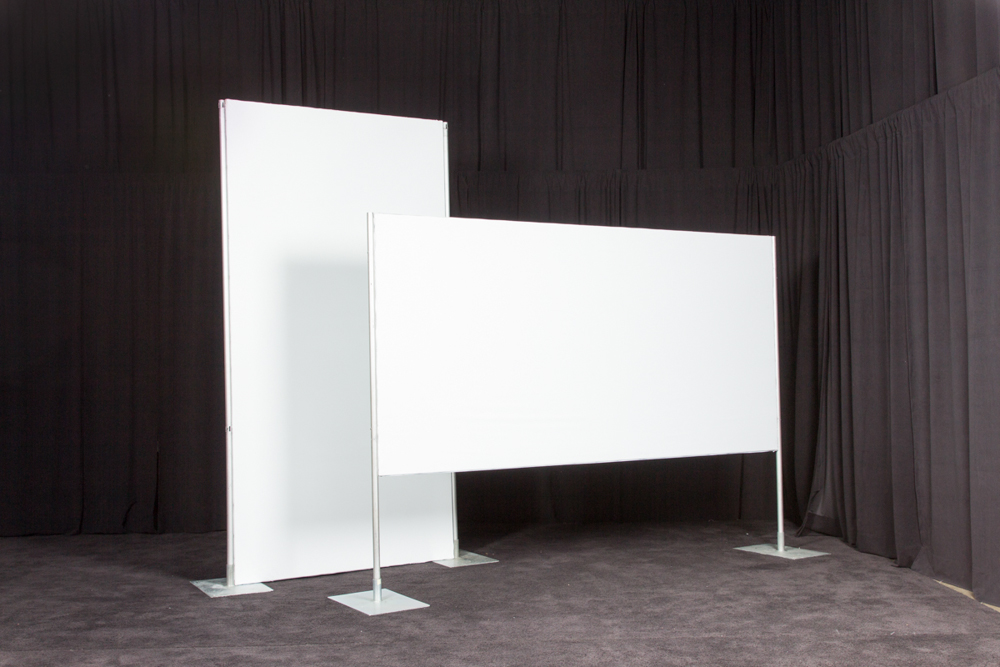 products free standing poster boards vertical ops